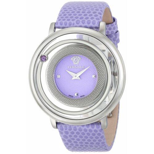 Versace VFH140014 Women's Venus Purple Quartz Watch