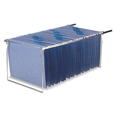 HANGING FILE FOLDER FRAME 2 Pack Letter Size Desk Drawer Cabinet Files Organizer - Hanging File Drawer