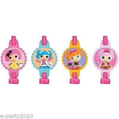 LALALOOPSY BLOWOUTS (8) ~ Birthday Party Supplies Favors Dolls MGA Entertainment](Lalaloopsy Party Supplies)