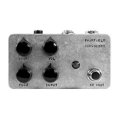 Fairfield Circuitry ~900 About Nine Hundred Four Knob Fuzz Guitar Effects Pedal