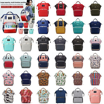 Mummy Maternity Baby Nappy Changing Diaper Bag Large Capacity Backpack Handbag