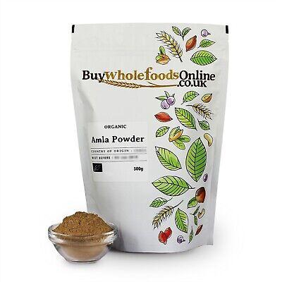 Organic Amla Powder 500g   Buy Whole Foods Online   Free UK P&P