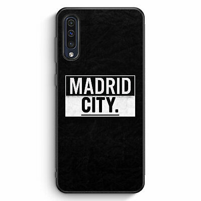 Madrid CITY Samsung Galaxy A50 Silikon Hülle Motiv Design Spanien Espana Cove...