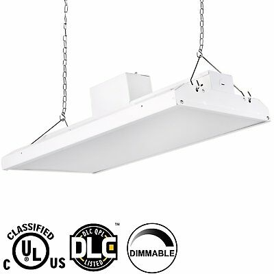 2' LED High Bay Shop Light 110W Bright 14500lm 5000K Dimmable Commercial Fixture
