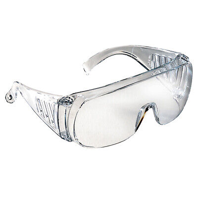 Radians Chief Clear Otg Fit Over Most Safety Glasses Lab Visitor Z87
