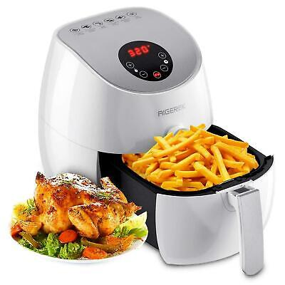 6 Presets Air Fryer LED Touch Screen Technology, Timer,Temperature Control