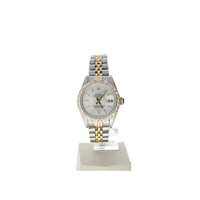 Rolex Datejust 26 Steel-and-18k-gold 69173 Silver Dial Women's 26-mm Automatic-s