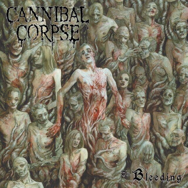 CANNIBAL CORPSE - THE BLEEDING  (180 GR. BLACK VINYL)   VINYL LP NEU