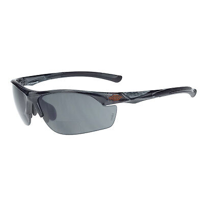 Crossfire Safety Glasses AR3 Bifocal Reading Readers 2.0x Smoke Lens (Safety Glasses Bifocal Readers)