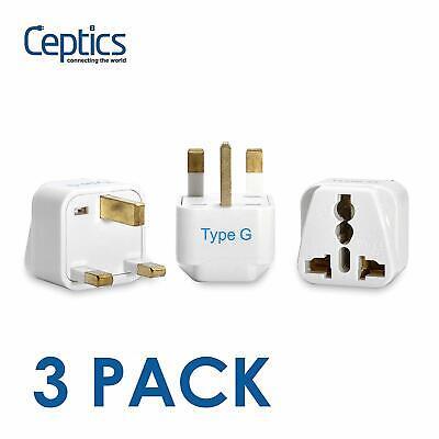 Ceptics UK, Hong Kong, Ireland, UAE Travel Plug Adapter  - 3
