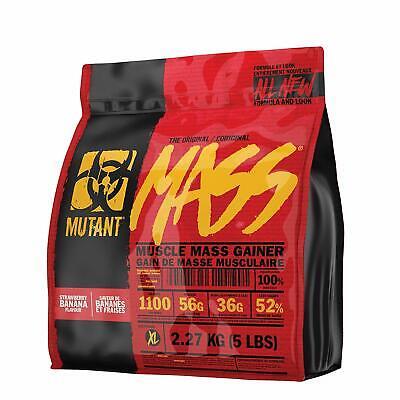 Mutant Mass Weight Gainer Protein Powder High Calorie 5 Lbs