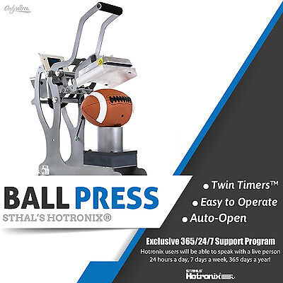 Stahls New Hotronix Auto Clam Ball Press Free Fedex Shipping