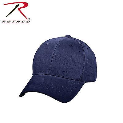 - 8286 / 8289 / 8283 / 8177 Rothco Supreme Solid Color Low Profile Cap