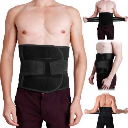 Adjustable Double Pull Lumbar Brace Waist Trimmer Trainer Belt Support Men Women