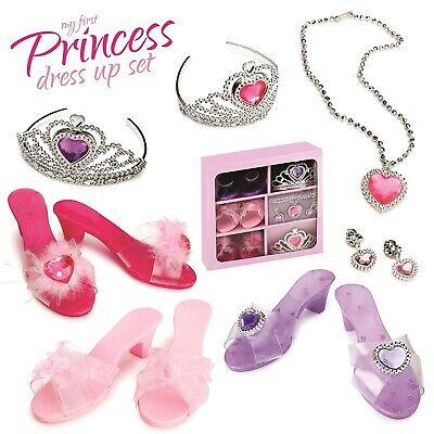Girls Dress Up Set (Princess Toddler Dress Up Shoes Costume Shoes Toys For Girls Set Disney)