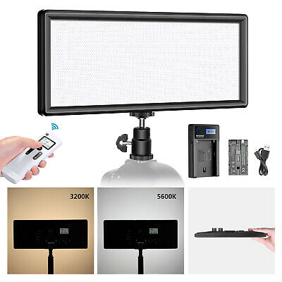 Neewer Super Slim 2.4G T120 on Camera LED Video Light Bi-color Dimmable