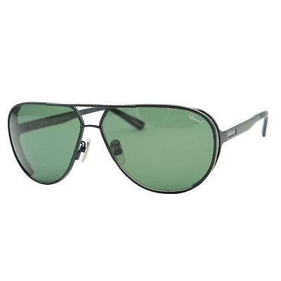bab70af74ad4 Chopard Mille Miglia SCH-A81 Men Black Titanium Polarized Pilot Sunglasses  Japan