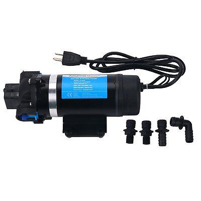 110v Ac 7lpm 160psi High Pressure Self-priming Diaphragm Water Pump Us Free Ship