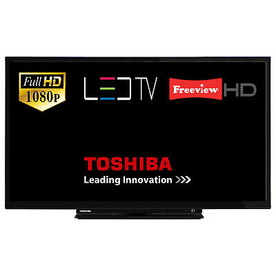 """Toshiba 32L1753 32"""" LED TV Full HD With Built-In Freeview HD HDMI SCART USB"""