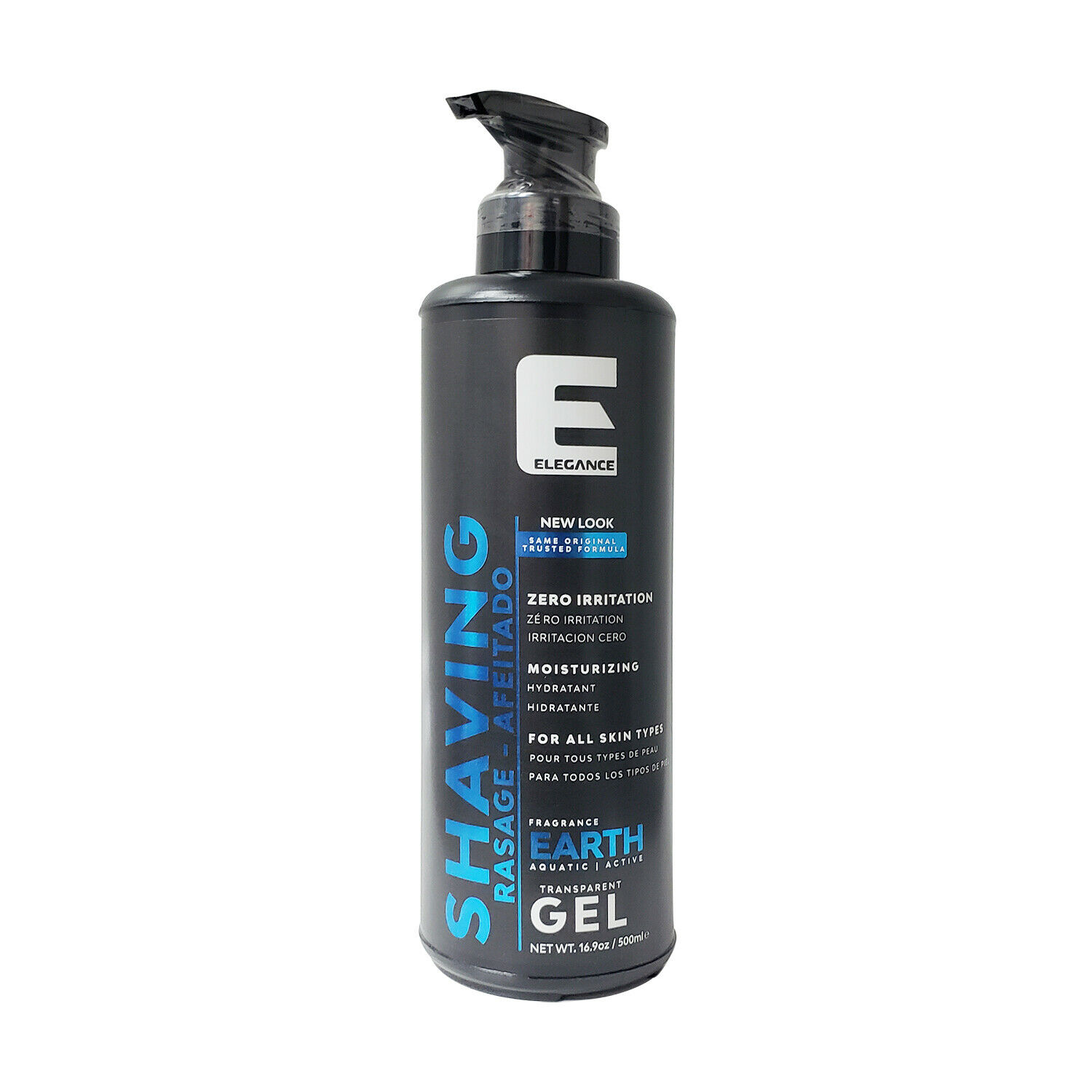 Elegance EARTH Transparent Shaving Gel 16.9 Oz (NEW LOOK) – Free Shipping!!! Health & Beauty