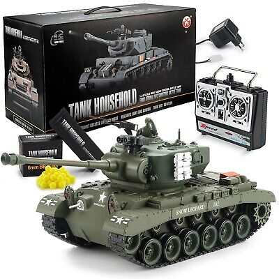 Ferngesteuerter RC Panzer M26 Pershing US Snow Leopard R/C Modellbau 1/16 RTR