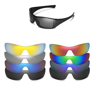 Walleva Replacement Lenses for Oakley Antix - Multiple (Oakley Antix Lenses)