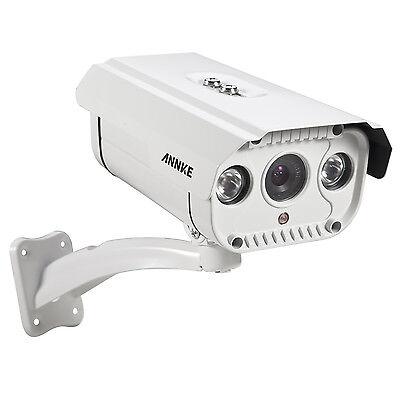 ANNKE 720P Überwachungskamera AHD White Bullet  IP66 Weatherproof IR-CUT IP66 DE