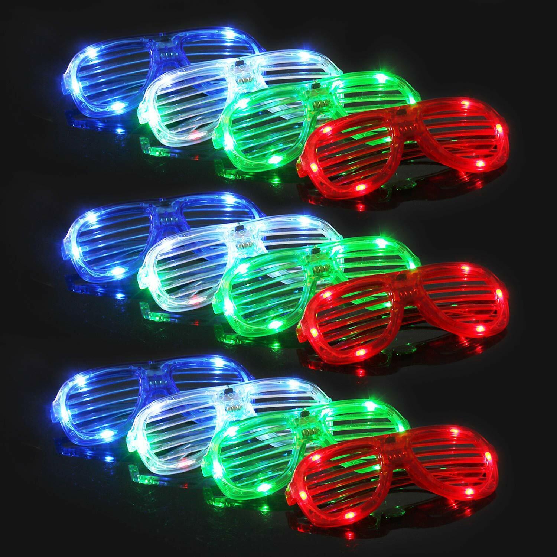 Light Up Glasses Bulk Party Favors Glow in The Dark LED Glas