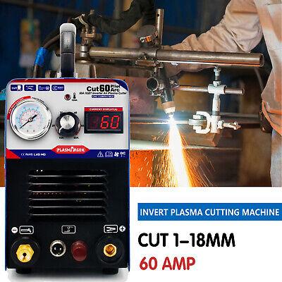 Icut60p Igbt Digital Air Plasma Cutter Machine 60a 1-18mm Cnc Machine For Metal