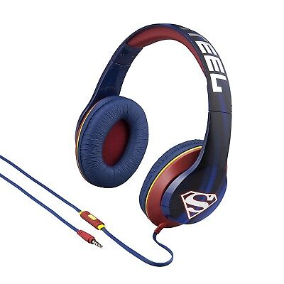 Superman Headphones - On Ear Hero Design with Built In Mic