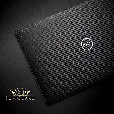 SopiGuard 3M Carbon Fiber Sticker Skin Wrap for 2018 Dell XPS 13 (9370)