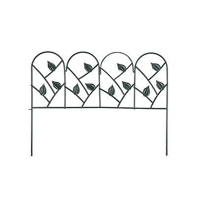 7Pack Mr.Garden Edging Fence Metal Garden Patio Border Fences 30