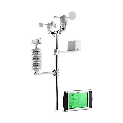 Profi Funk Wetterstation Touchscreen Wind Aussensensor Außenthermometer Solar