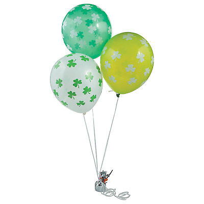 25 ST PATRICK'S DAY Party Decorations SHAMROCK Latex Balloons (Shamrock Balloons)