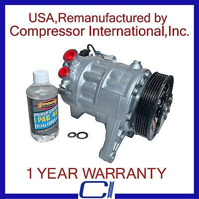 2010-2011 SRX 3.0L,2010-2011 LaCrosse 3.0L/3.6L OEM Reman A/C Compressor