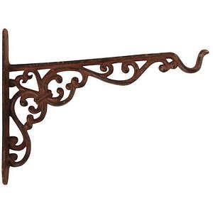 Gancho-hierro-fundido-para-cesta-en-Suspension-Linterna-ETC-NUEVO-25cm