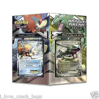 XY Kampf Arena Deck: Rayquaza Vs Keldeo Ex Verpackt 2- 60x Pokemon Karten ()