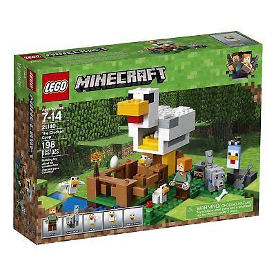 LEGO Minecraft 21140 Der Hühnerstall Alex Wolf NEU/OVP - The Chicken Coop NEW