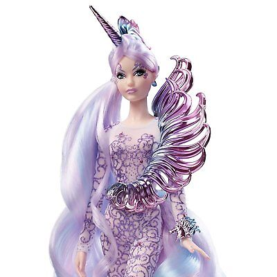 Barbie Collector Unicorn Goddess Doll Mystical Muse WOW Gold label