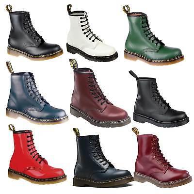 Dr. Martens Doc Boots Stiefel Smooth 8 Eye Loch 1460z Lederstiefel Neu ()