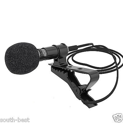 Lavalier Lapel Clip-on Microphone for iPhone Samsung Android