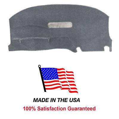 Gray Carpet Dash Mat Compatible with Dodge Caravan 1996-2000 Dash Cover USA Made