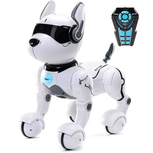 Top Race Remote Control Voice Control Robot Dog; Imitate, Guard, Sings, & Dance