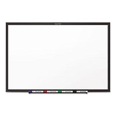 Quartet Classic Melamine Dry Erase Board 72 X 48 White Surface Black Frame S537b