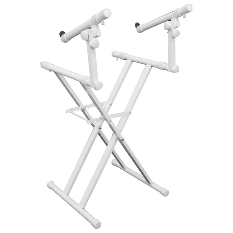 Odyssey LTBXS2WHT, DJ Coffins And Controller Case X-Stand - White