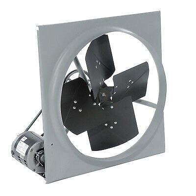 24 Exhaust Fan - Belt Driven - 3270 Cfm - 120 Volts - 13 Hp - 1 Phase