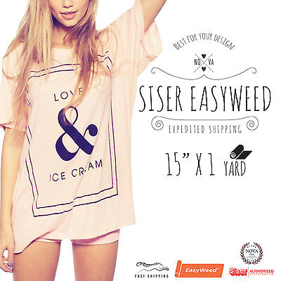 Siser Easyweed Heat Transfer 15 X 1 Yd Select Your Color