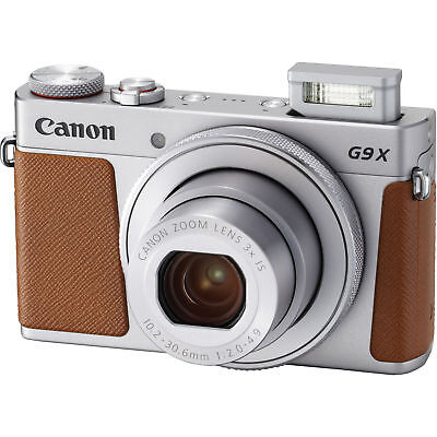 Canon Powershot G9 X Mark Il 20.1MP (Silver) Point and Shoot Digital Camera
