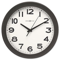 Howard Miller Kenwick Wall Clock, 13-1/2, Black