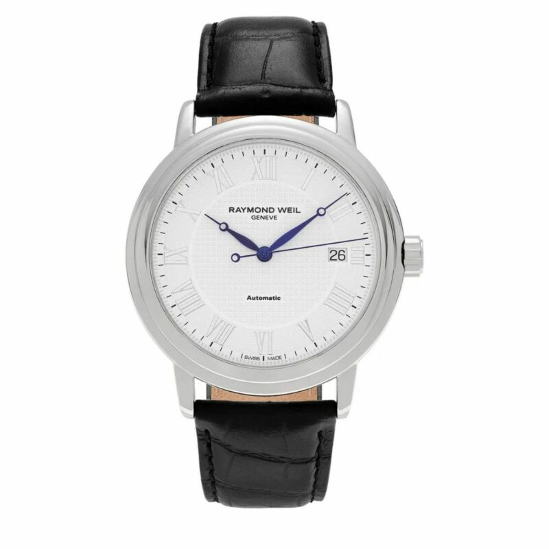 Raymond Weil 2837-STC-00308 Men Maestro White Automatic Watch